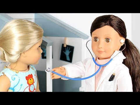 American Girl Doll Doctor Playset Review