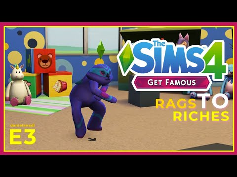 Jadi Badut Ancol Anjayyy | #3 | TheSims 4 Rags To Riches Indonesia