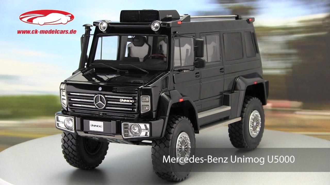 ck-modelcars-video: Mercedes Benz Unimog U5000 Baujahr ...