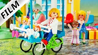 Playmobil Film deutsch VERRÜCKTER FAMILIEN AUSFLUG an Omas Geburtstag Vogel vs Schnösel Kinderserie