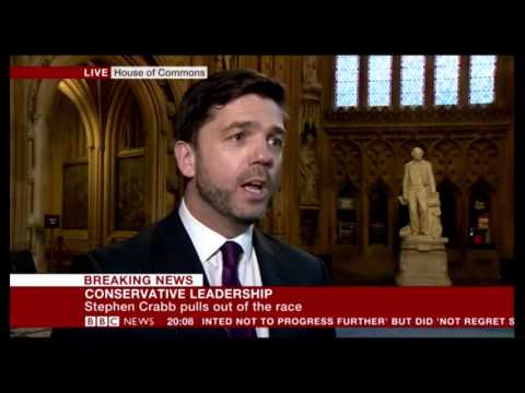 Stephen Crabb Drops Out Of Conservative Leadership Race