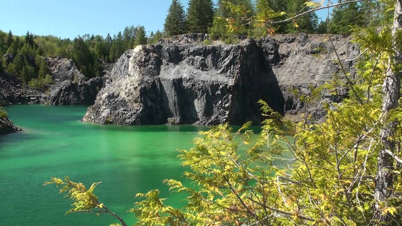 Texada Island Rock Quarry Youtube