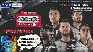 EFootBall 2020 Best Patch -PES 2018 PS4 HEN 5.05-CUSA08282 Fix5 Summer 19-20 [Link]