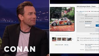 Ewan McGregor Sells His Old Cars On Ebay  - CONAN on TBS