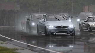 2015 bmw m4 on top gear track vs lexus rc f vs audi rs5 and more
