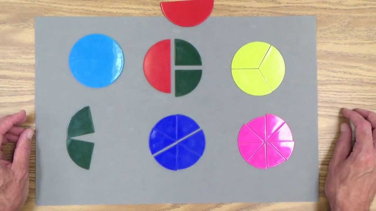 medium resolution of Teach Fractions to Your 3-7 Year-Old Child: Part 2 - YouTube