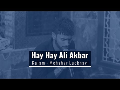 Mir Rehan Abbas Hay Hay Ali Akbar | हय हय अली अकबर  | ہا ئے ہا ئے علی اکبر