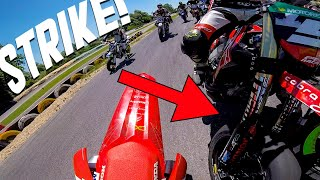 HE THREW ME OUT AT THE FIRST CURVE! 😡 A RACING STORY - RACE 1/2