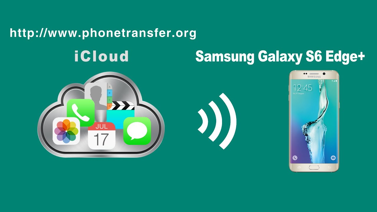 How To Restore Icloud Backup To Samsung Galaxy S6 Edge Icloud To Galaxy S6 Edge Youtube