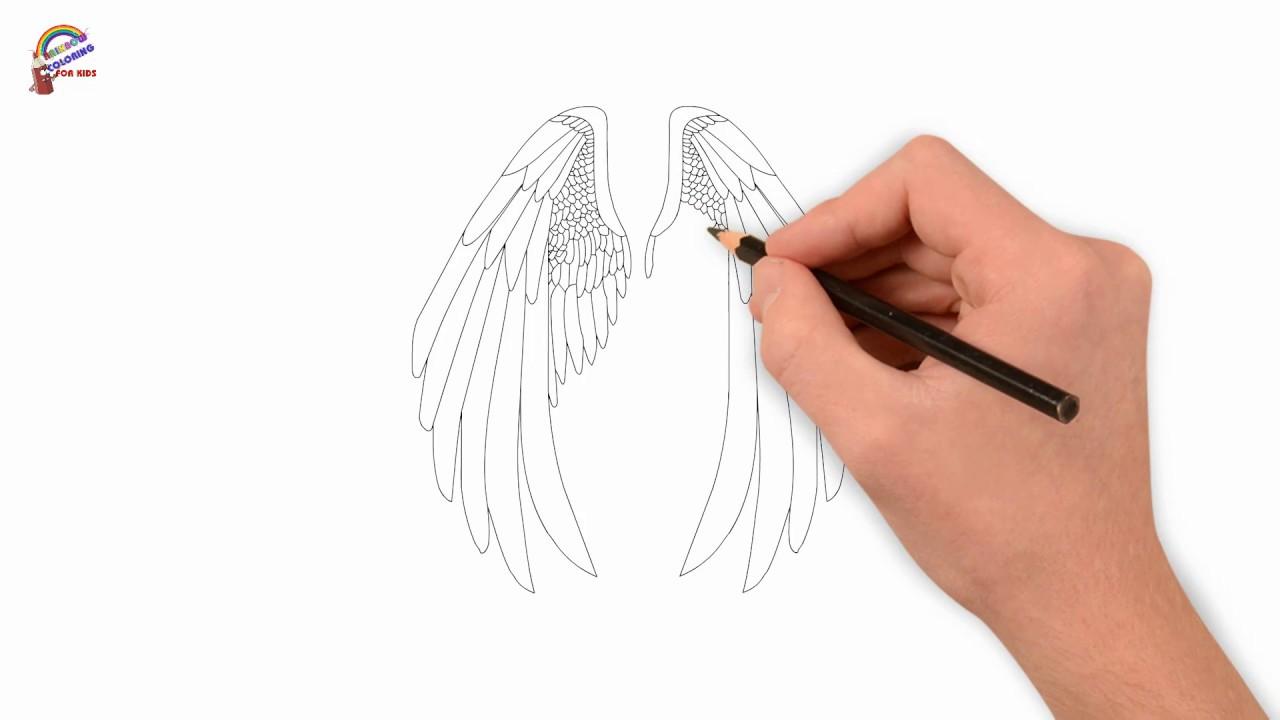Cách Vẽ Cánh Thiên Thần Đơn Giản Sau Một Nốt Nhạc