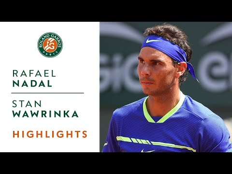 Thumbnail: Rafael Nadal v Stan Wawrinka Highlights - Men's Final 2017 I Roland-Garros
