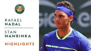 Rafael Nadal V Stan Wawrinka Highlights   Men's Final 2017
