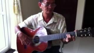 Chiều Moskva-Nhạc Nga. Transcription for guitar by Quang Thạch.