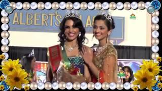 Mis India USA Monica Gill Interview at TV Asia studios, NJ