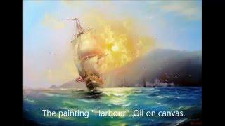 Seascape painting part 1