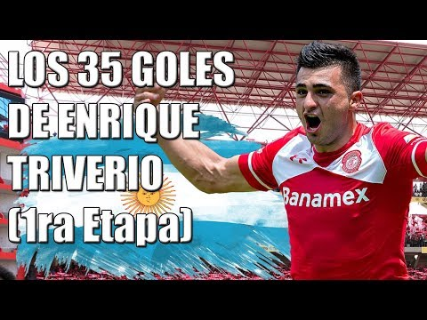 Los 35 goles de Enrique Triverio con Toluca (1ra etapa)