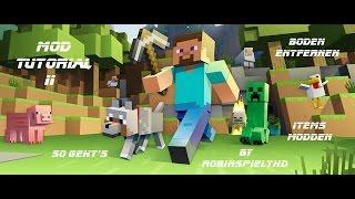 Minecraft PS3 - Mod Tutorial - Boden entfernen + Items modden - 1,7 k Abo Special