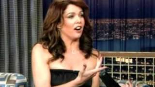 Lauren Graham on Conan O'Brien 22th November 2003