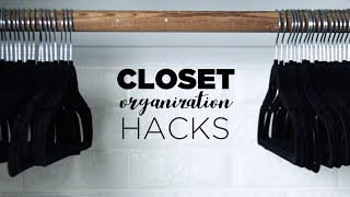 9 Closet Organization Hacks