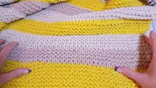Влог: Вязание за два дня.