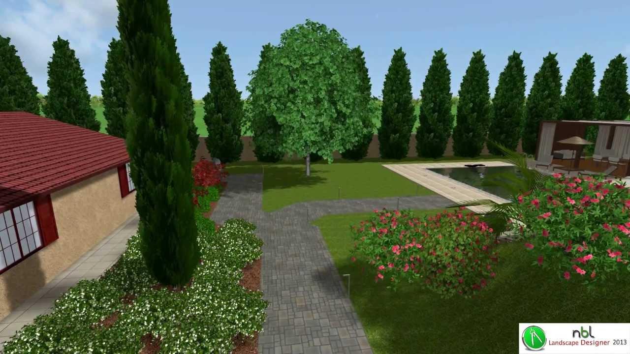 nbl landscape designer 2013 presentazione youtube