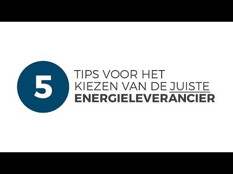 5 tips voor energie vergelijken