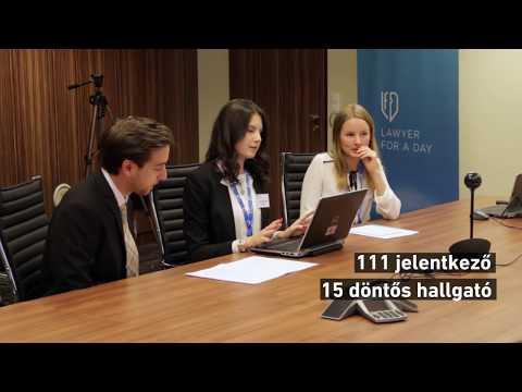 DLA Piper - Lawyer For A Day   Döntő - 2017