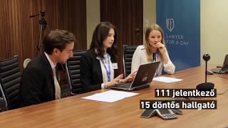 DLA Piper - Lawyer for a Day | Döntő - 2017