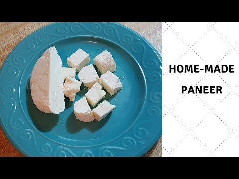 HOW TO MAKE LOW FAT PANEER AT HOME || INDIAN COTTAGE CHEESE || CHHENA