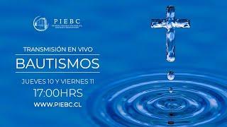 Bautismos PIEBC 2020 - Jueves 10/12/2020