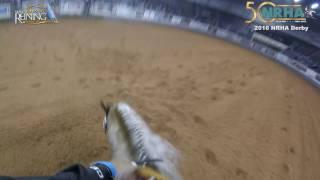 2016 NRHA Open Derby Finals Andrea Fappani & Platinum Vintage GoPro video