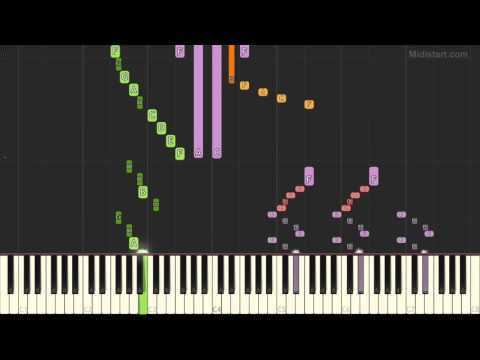 Tv Themes - The Jetsons (Piano Tutorial) [Synthesia Cover]