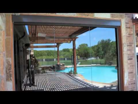 Exterior shades dallas motorized shades dallas youtube for Exterior motorized solar shades