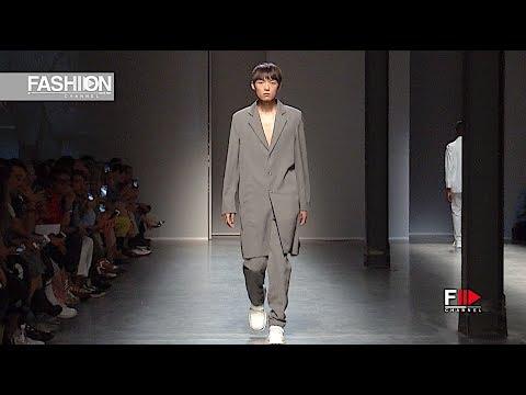 Francesco Salvi Milano Moda Graduate 2018 Milan Fashion Channel