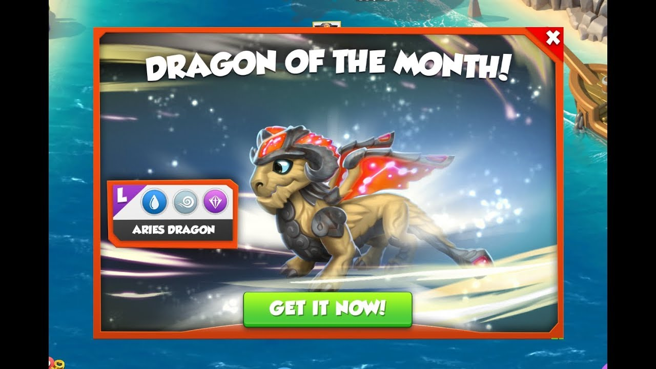 How to breed Aries Dragon ? - Dragon Mania Legends