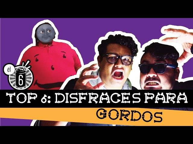 TOP 6 // Disfraces para gordos // Halloween // El Six Tv // #Saluuud