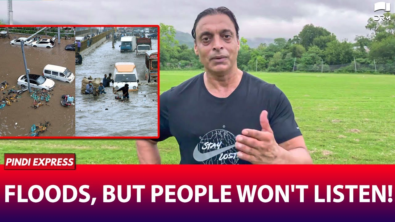 Floods All Over the World but People Won't Listen ! | Message for Everyone | Shoaib Akhtar | SP1N