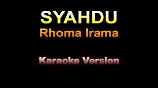 Download lagu Rhoma Irama & Rita Sugiarto - SYAHDU - Karaoke version