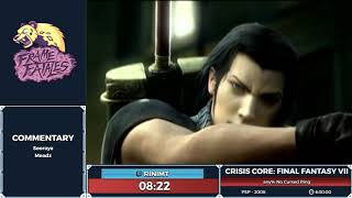 Crisis Core: Final Fantasy VII by rinimt in 6:25:37 - Frame Fatales 2019