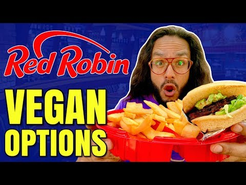 RED ROBIN GOES VEGAN / HOW TO ORDER VEGAN AT RED ROBIN