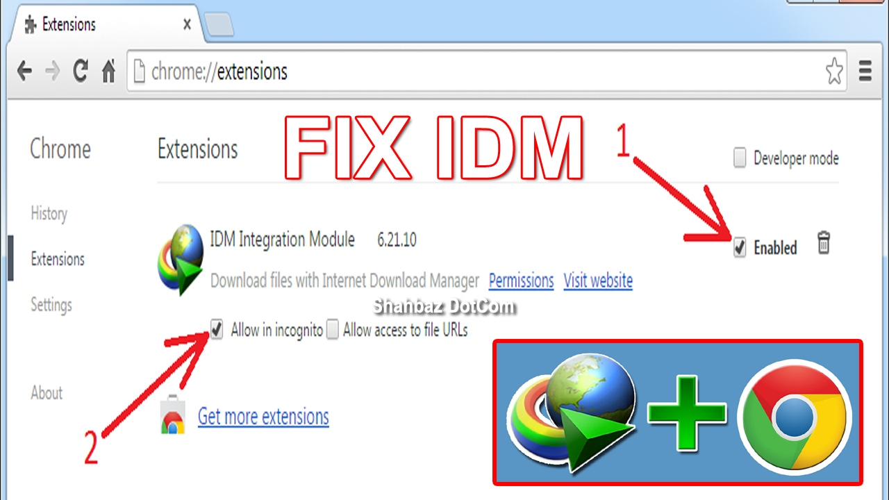 google chrome extension manager
