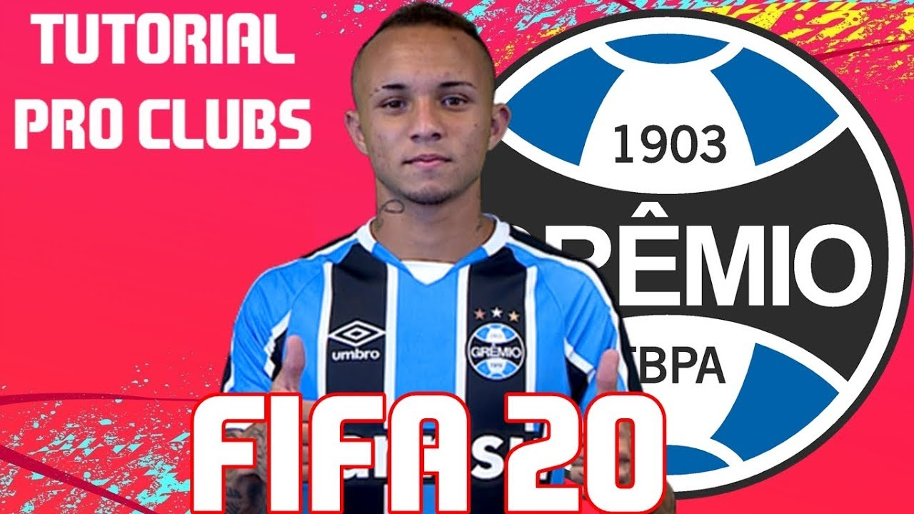 Fifa 20 Tutorial Face I Everton Cebolinha Gremio Pro Clubs Youtube
