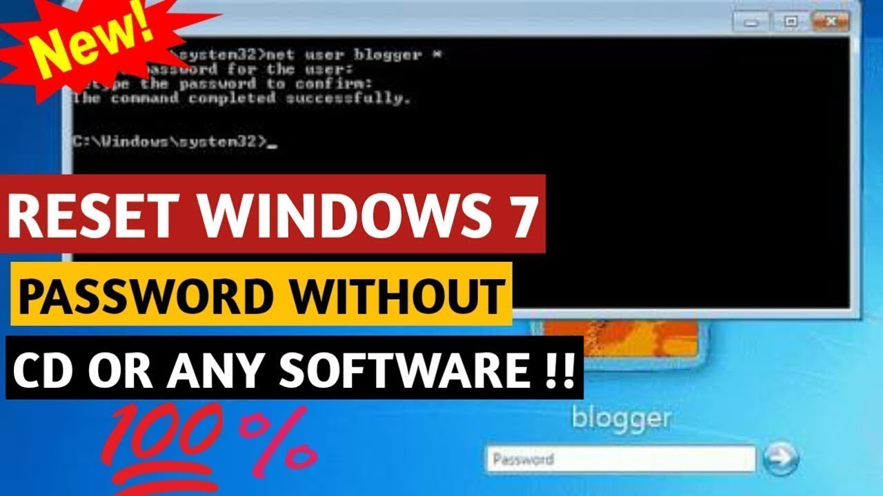 windows 10 password crack without software