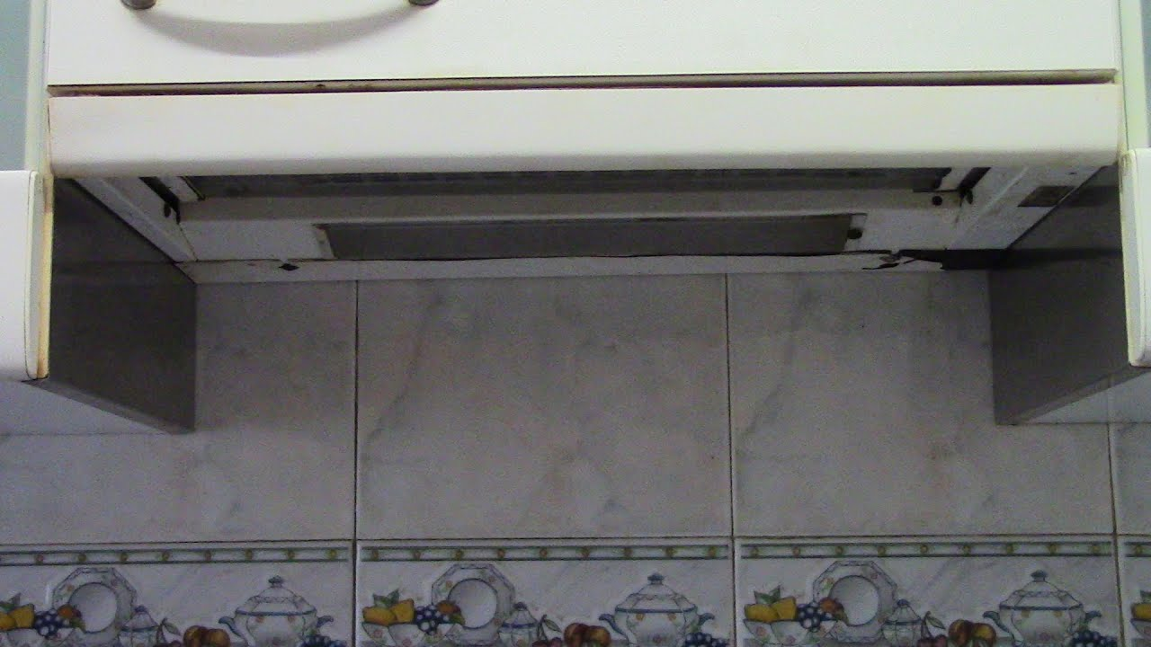 Extractor de humos en cocina no funciona reparaciones del for Extractor de cocina de pared