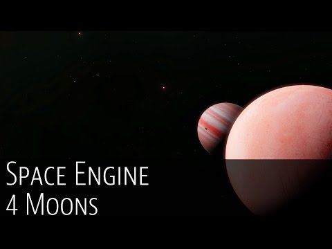 "Space Engine ""4 Moons"""