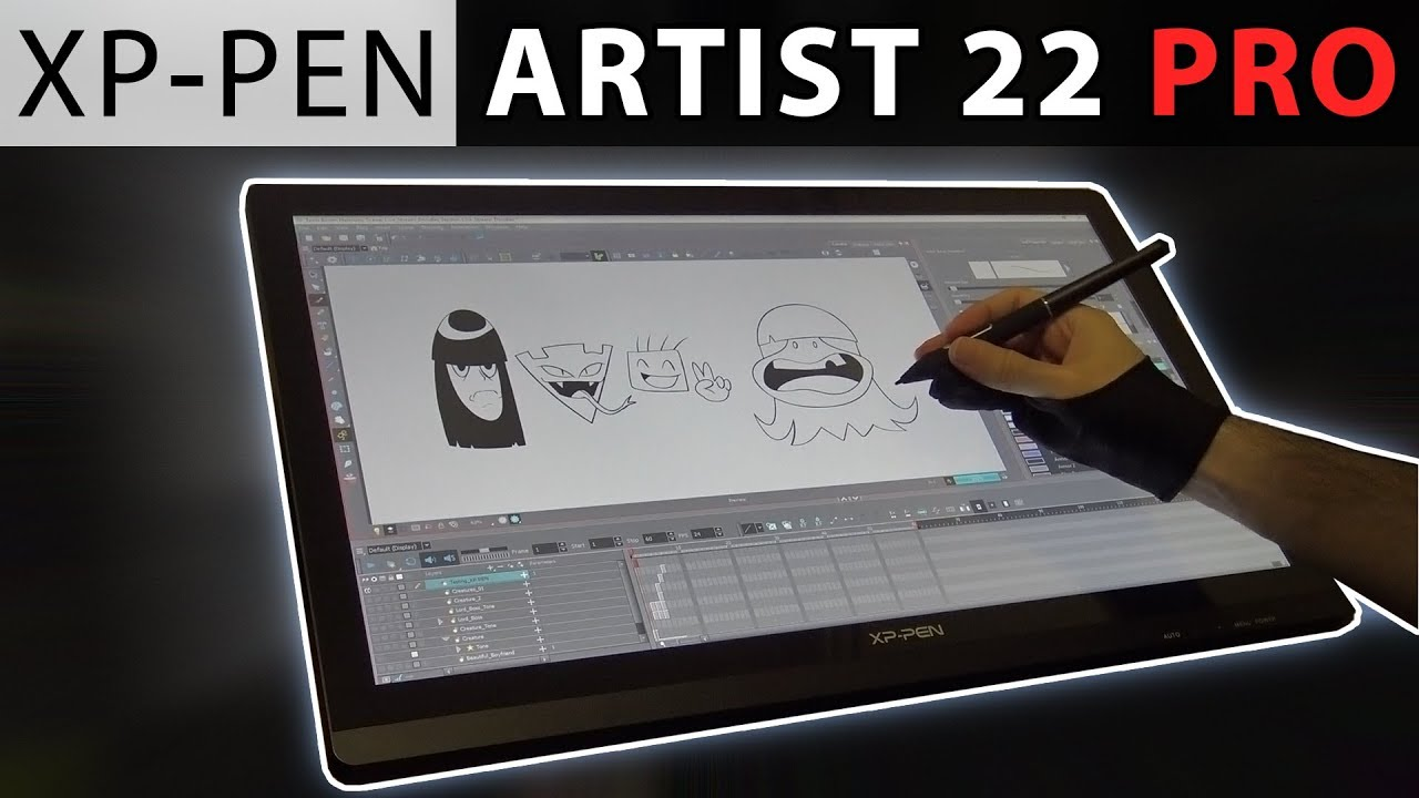 XP-PEN Artist22E Pro Graphics Drawing Tablet Pen Display