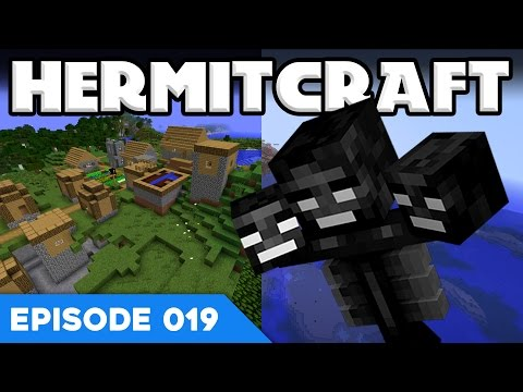 Hermitcraft V 019 | WITHER ON THE LOOSE!? 😱 | A  Minecraft Let's Play