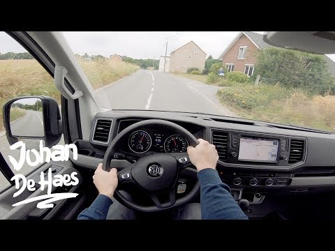 VW ELECTRIC E-Crafter L3H3 100 KW POV TEST DRIVE