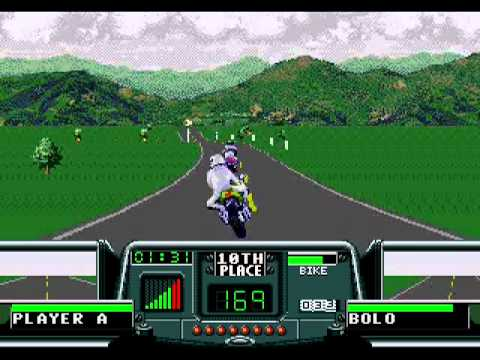 Road Rash III (Mega Drive) - United Kingdom Metal Cover