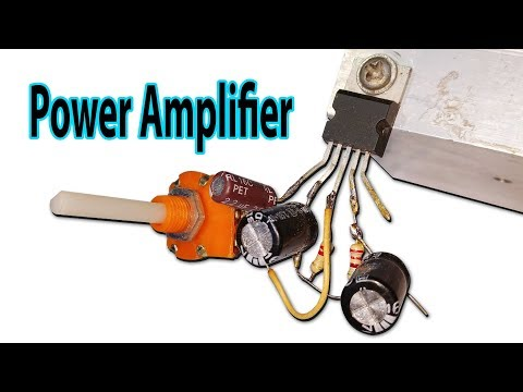 How to make a 50W audio amplifier (TDA2050 ) - YouTube